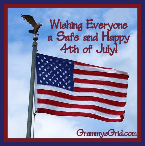 Wishing Everyone a Safe and Happy 4th of July 2017!