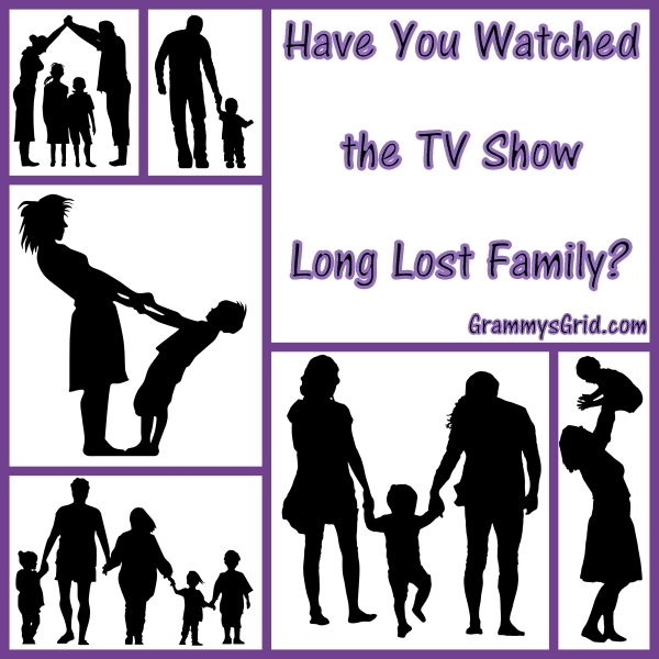 Have You Watched the TV Show Long Lost Family?