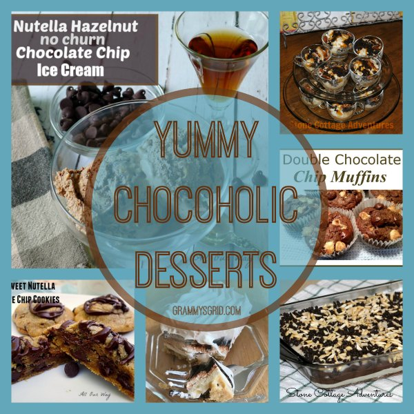 Yummy Chocoholic Desserts