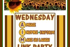 Wednesday AIM Link Party #17