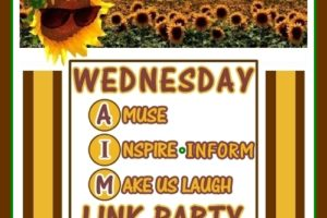 Wednesday AIM Link Party #9