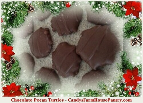 Chocolate Pecan Turtles