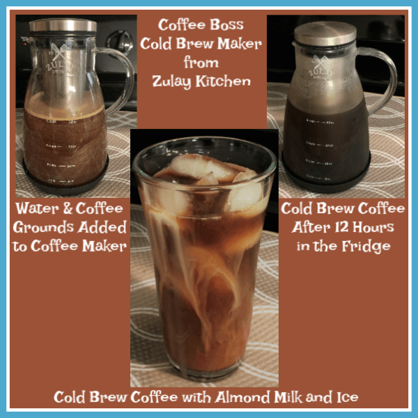 #ad HOW TO MAKE COLD BREW COFFEE AND A GIVEAWAY Cold brew coffee with the Coffee Boss Cold Brew Maker from Zulay Kitchen #giveaway #review #ColdBrewCoffee #CoffeeBoss #ZulayKitchen