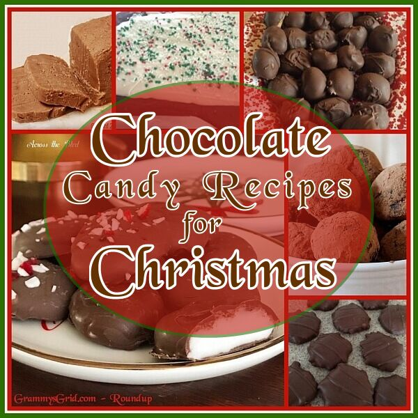 6 Chocolate Candy Recipes for Christmas