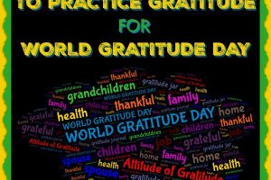 10 WAYS TO PRACTICE GRATITUDE FOR WORLD GRATITUDE DAY 2018