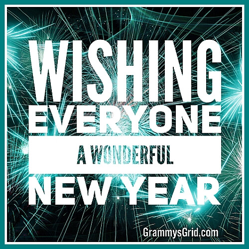 Happy New Year 2018 from Grammy's Grid