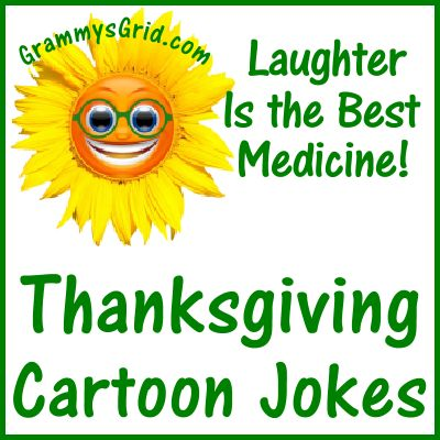 Thanksgiving Cartoon Jokes