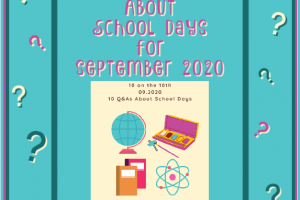 10 QUESTIONS ABOUT SCHOOL DAYS FOR SEPTEMBER 2020. What would your answers be? #10questions #questions #answers #blogging #bloggers #prompt #SchoolDays #school