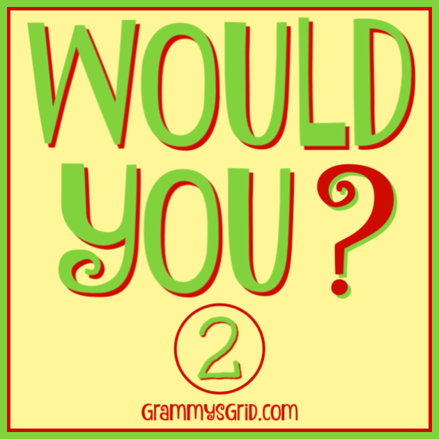 WOULD YOU? Which answer would you choose? #questions #answers #WouldYou #WouldYouRather #ballet #salsa