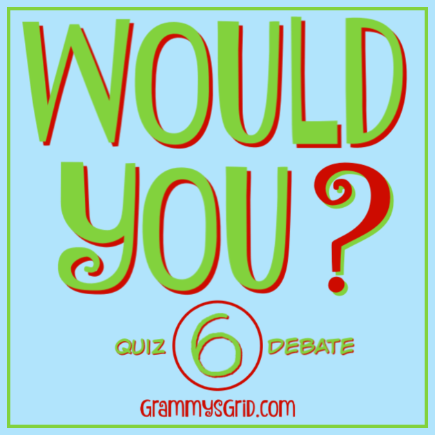 WOULD YOU? 6 - Would you rather participate in a quiz competition or in a debate competition? Which answer would you choose? #questions #answers #WouldYou #WouldYouRather #quiz #debate #competition