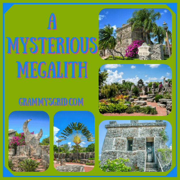 A MYSERIOUS MEGALITH (MEGALITH 49 WORDS PROMPT) #writing #prompt #WritingPrompt #49words #megalith #coral #castle #CoralCastle #florida #usa
