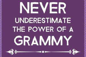 Never Underestimate the Power of a Grammy
