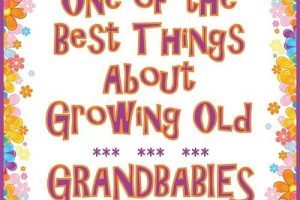 One of the Best Things About Growing Old – Grandbabies