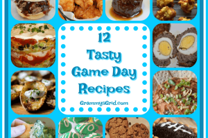 12 TASTY GAME DAY RECIPES