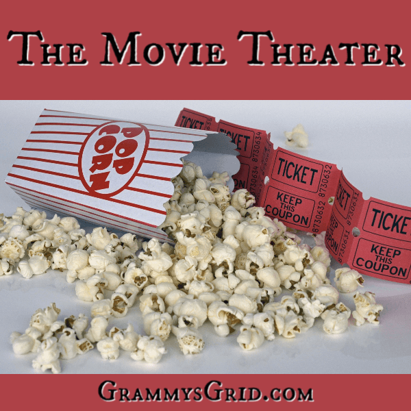 THE MOVIE THEATER is a short story linked up at the #ShortStoryPromptLinkParty 19. Use the prompt, create your story, and add it to the party! No story is too short! #WritingPrompt #ShortStory #LinkParty