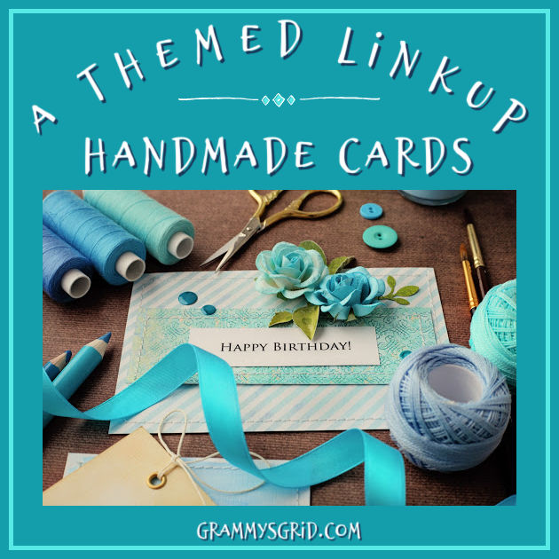 A THEMED LINKUP! Party with me at #AThemedLinkup for Handmade Cards #LinkUp #LinkParty #BlogParty #party