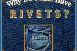 WHY DO JEANS HAVE RIVETS? #jeans #rivets #denim